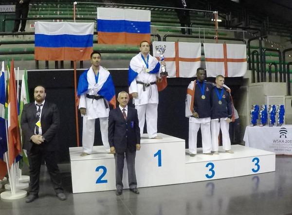 Сергей Мащенко— чемпион мира посетокан карате-до 2017 года