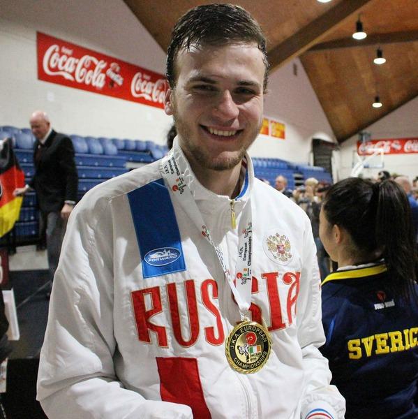 Победитель Кубка Европы Александр Рудь