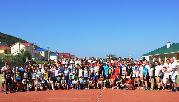 Участники международных учебно-тренировочных сборов посетокан карате-до впос. Сукко
