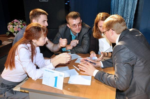 Обсуждение вопроса командой администрации ООО
