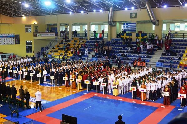 Открытие 31-го чемпиона Европы посетокан карате-до вГреции
