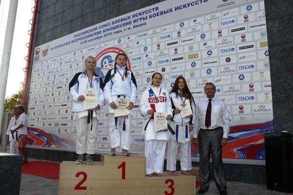 Победительница соревнований Алена Новацкая