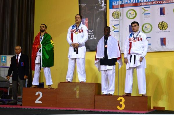 Чемпион Европы среди юниоров Сергей Мащенко