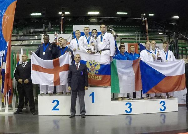 Юниорская российская сборная— лучшая начемпионате мира вИталии