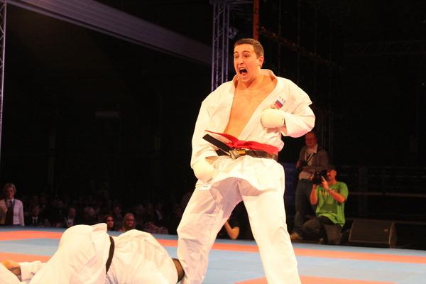 Победный прием Сергея Мащенко