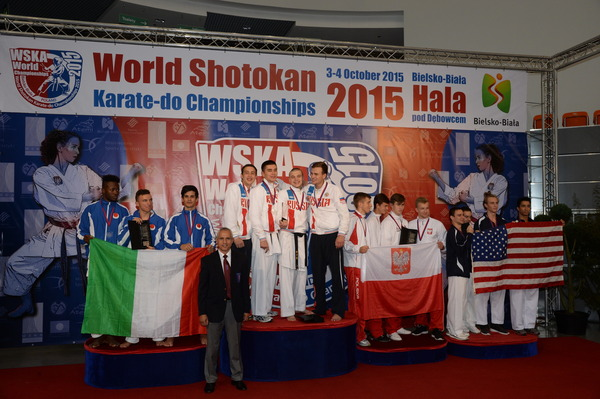 Российская юниорская сборная— сильнейшая начемпионате мира посетокан карате-до вПольше