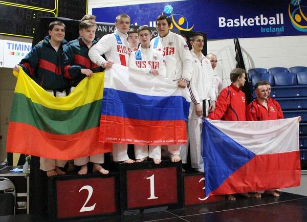 Российские юниоры— лучшие натурнире вИрландии
