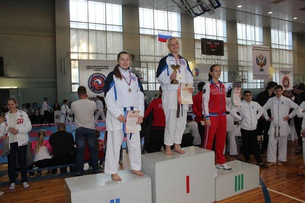 Магдалина Черниенко (первое место) иАлена Новацкая (второе место)